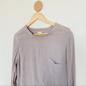 Wilfred Free Long Sleeve Blouse Top Shirt
